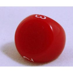 Röd 3 sidig tärning