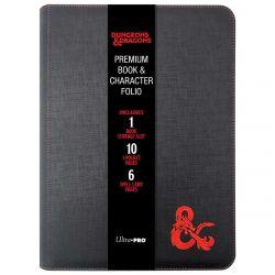 Premium Zippered Book & Character Folio