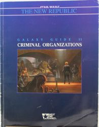 Galaxy Guide 2: Criminal Organizations
