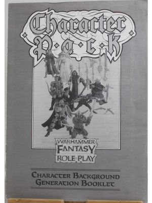 Character Pack, first edition