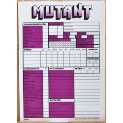 Rollformulär Mutant