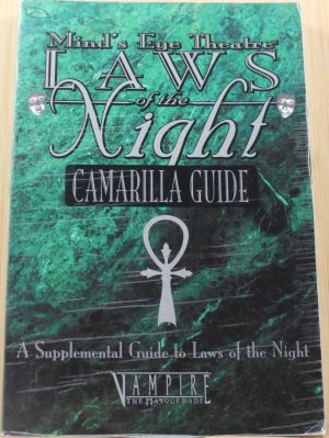 Laws of the Night, Camarilla Guide