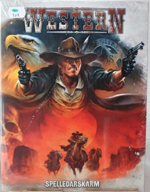 Spelledarskärm Western