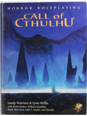 Call of Cthulhu 5.6 Edition