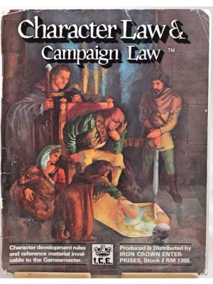 Character Law & Campaign Law