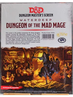 DM Screen Dungeon of the Mad Mage
