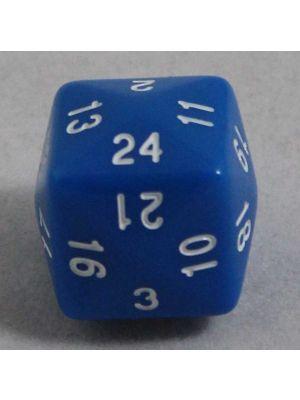 Blå 24 sidig tärning