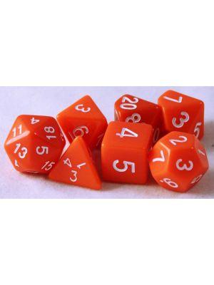 Orange 7 tärningar