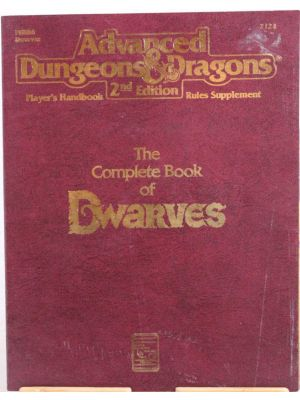 The Complete Book Of Dwarves