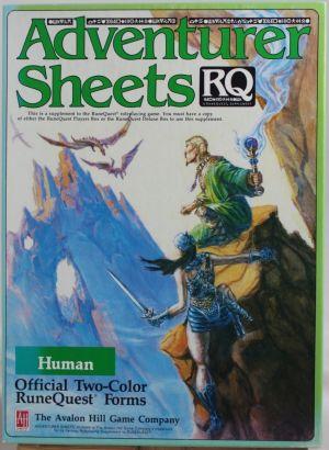 Adventurer Sheets