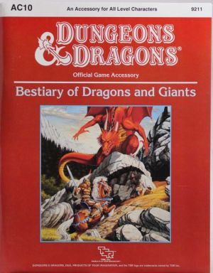 Bestiary of Dragons and Gigants