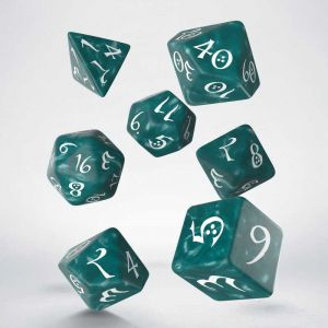 Classic RPG Dice Set Stormy / White