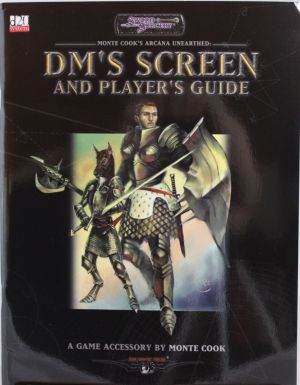 DM'S Screen and Players Guide
