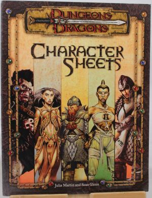 Characters Sheets
