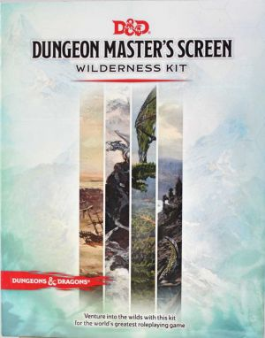 Dungeon Master´s Screen Wilderness Kit