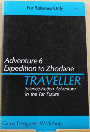 Adventure 6: Expedition to Zhodane