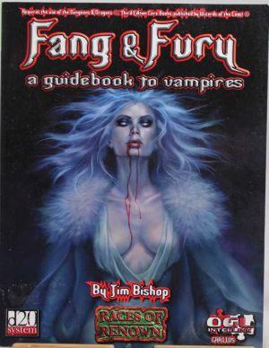 Fang & Fury a guidebook to vampires