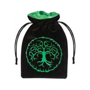 Tärningspåse Träd grön