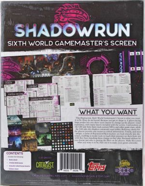 Sixth World Gamemaster´s Screen