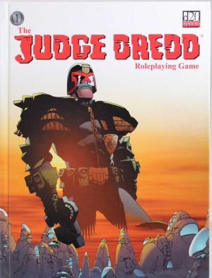 The Judge Dredd  Roleplaying Game