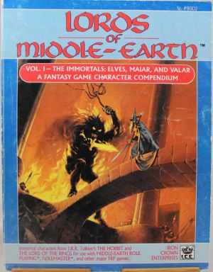 Lords of Middle-Earth Vol I The Immortals