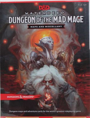 Dungeon of the Mad Mage Maps and Miscellany