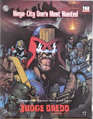 Mega-City One´s Most Wanted