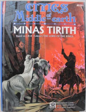 Cities of Middle Earth: Minas Tirith