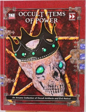 Occult Items of Power