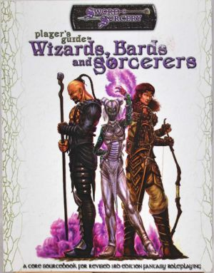 Player´s guide to Wizards, Bards and Sorcerers