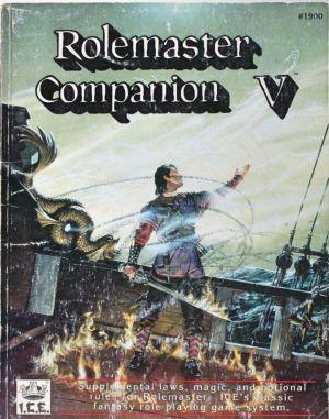 Rolemaster Companion V
