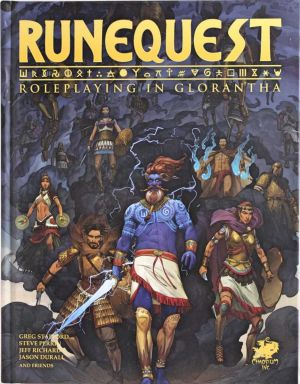 Runequest Roleplaying in Glorantha