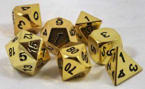 Metall Guld, 7 tärningar