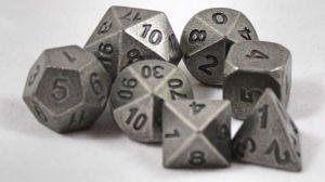 Metall Järn, 7 tärningar