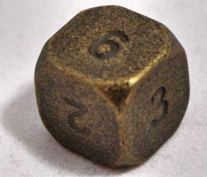 T6 antik guld metal
