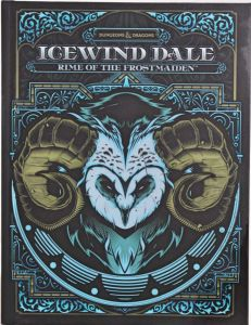 Icewind Dale - Rime of the frostmaiden (Alt Cover)