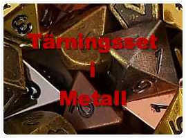 Metall Tärningar